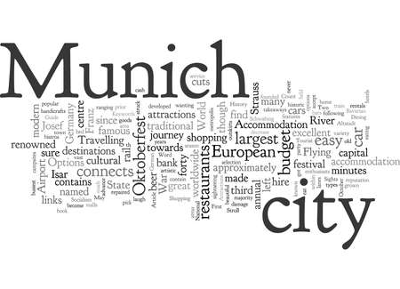 A Tourist Guide To Munich