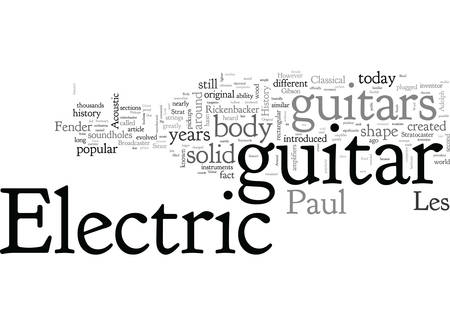 A Look At The History Of The Electric Guitar