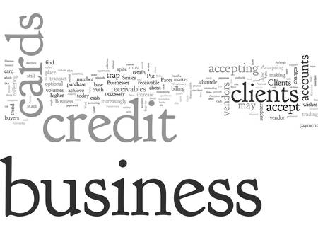 Accept Business Credit Cards Empower Your Business and Your Clients Illustration