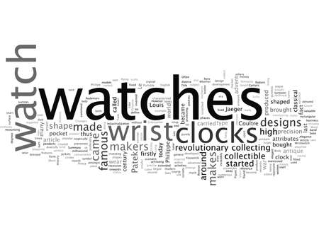 A Short History of the Wristwatch Illustration