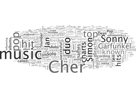 AKA Duos in der Popmusik Vektorgrafik
