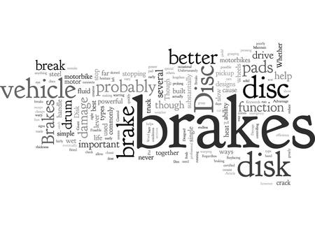 Advantage Of Disc Brakes Çizim
