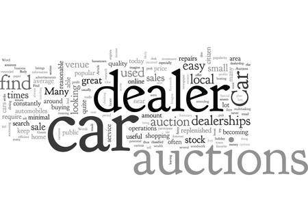 A Few Words About Car Dealer Auctions