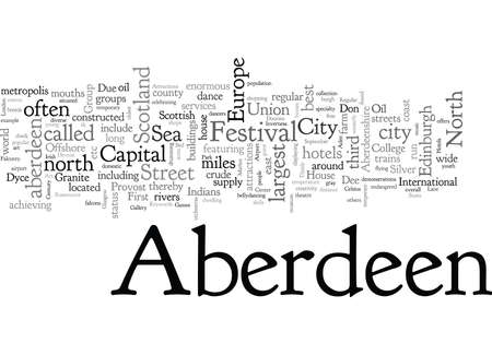 Aberdeen Hotels And Attractions Stock fotó - 132108753