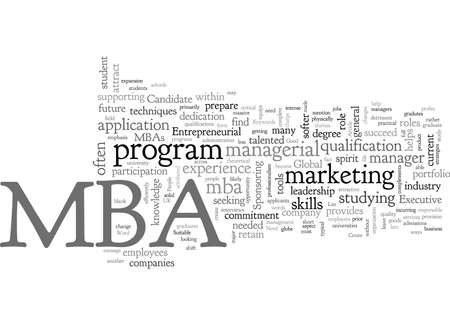 Are You A Suitable MBA Candidate Illustration