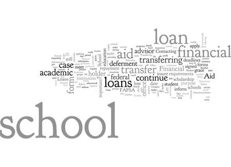 Are Student Loans Transferable From One School To Another