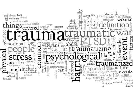 An Analysis Of Trauma