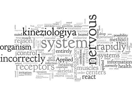 Applied of kineziologiya diagnostics is treatment the health Stockfoto - 132213671