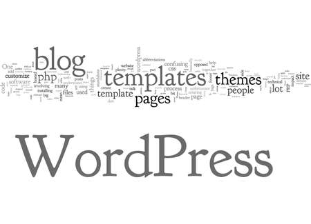 Are Wordpress Templates Difficult To Understand Ilustração