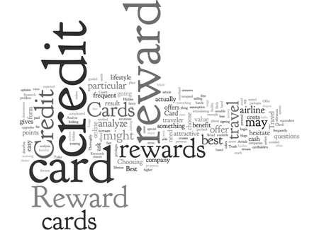 Analyze Reward Credit Cards Thoroughly