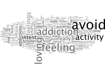 Are You Addicted To Your Activities Banque d'images - 132213837