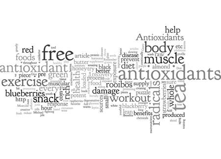 Antioxidants Add a Lean Muscular Body to the List of Benefits