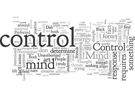 Are You Under Mind Control Why Not Standard-Bild - 132213911