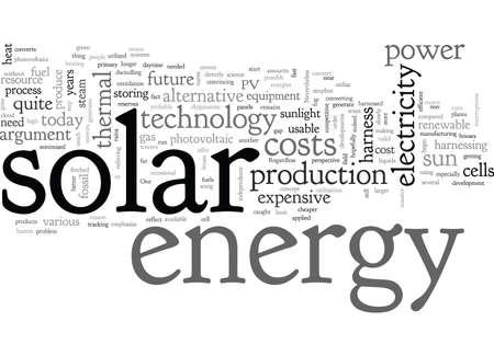 Arguments against solar energy