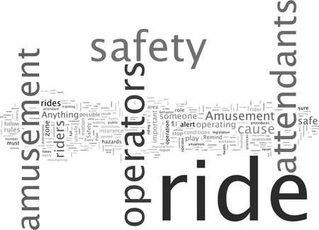 Amusement Ride Safety Considerations Stock Illustratie