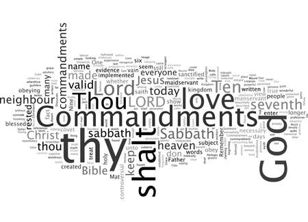 Are there only Nine Commandments Illustration