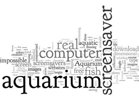Aquarium Screensaver Where Can You Find It