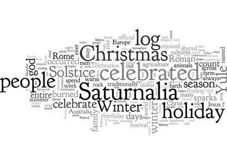 Alte Feste der Weihnachtsfeiertage