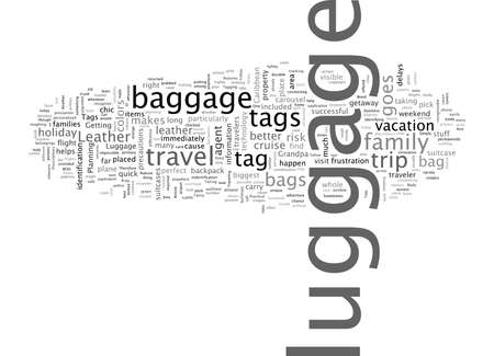 Are Leather Luggages Tags Simply Flights Of Fancy