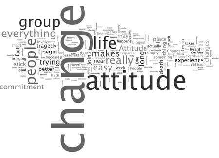An Attitude Change Is The Biggest Change You Will Ever Make Vectores