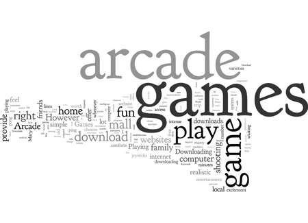 Arcade Game Downloads Download And Play Arcade Games At Home Illustration