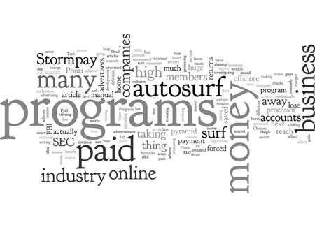 Zijn betaalde Autosurf-programma's dood?