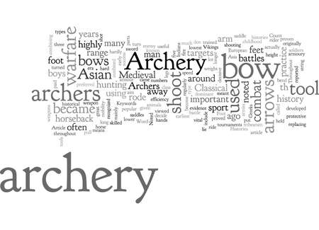 Archery Three Noted Histories