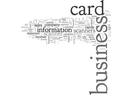 Are Business Card Scanners Advantageous