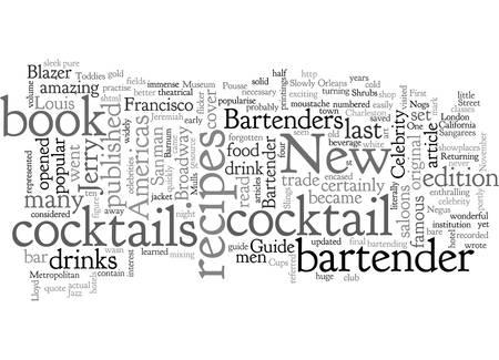 Premier barman célèbre des Amériques