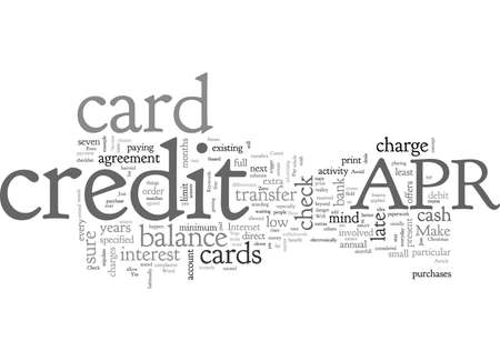 APR credit cards are Not Just for Christmas