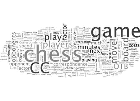 An Argument In Favor of Correspondence Chess