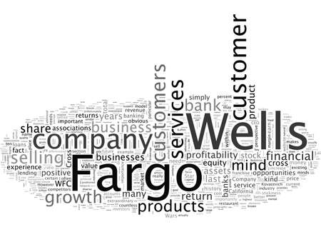 An Analysis of Wells Fargo Company WFC 일러스트