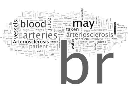 Arteriosclerosis Ilustração Vetorial