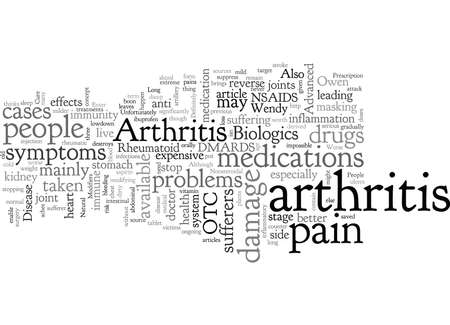 Arthritis Drugs Is the Cure Worse Than the Disease Çizim