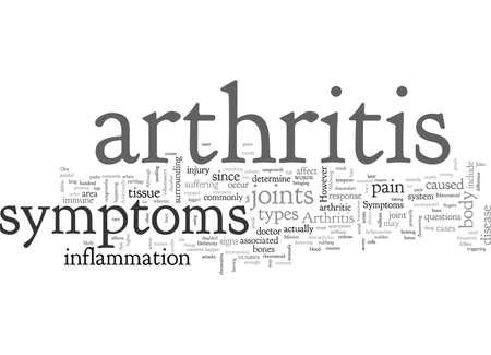 Arthritis Symptoms 일러스트