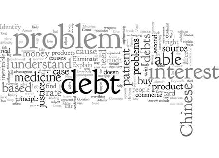 Be Debt Free To live In Harmony Vectores