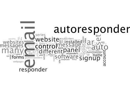 Autoresponder Software Can Be Installed On Your Website Ilustração