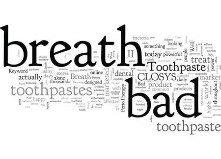 Bad Breath Toothpaste
