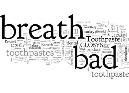 Bad Breath Toothpaste