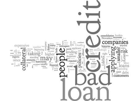 Bad Credit Loan Solutions