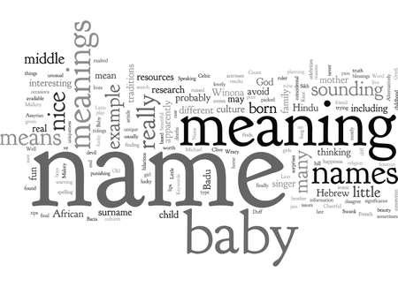 Betekenissen van babynamen