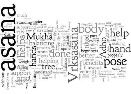Benefits And Importance Of Adho Mukha Vrksasana 版權商用圖片 - 132214462