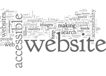 Benefits of an accessible website part The business case