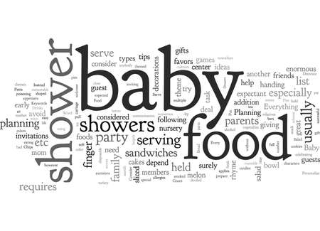 Baby Shower Food What And How To Serve