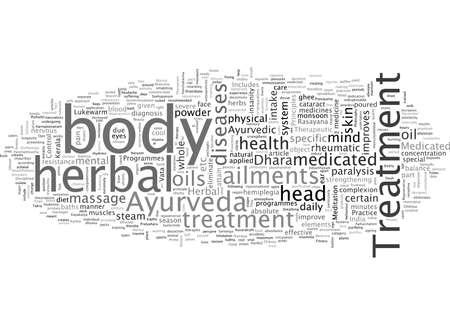 Praxis der Ayurveda-Prinzipien Vektorgrafik