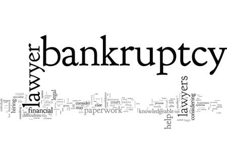 Bankruptcy Lawyer When to Hire One