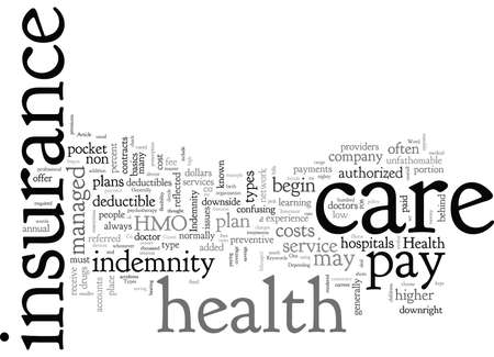 Basic Types Of Health Insurance