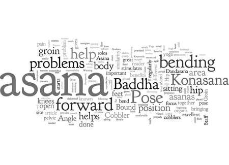 Baddha Konasana A Great Asana For Hip And Groin Stock fotó - 132214539