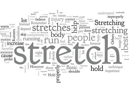 Basic Stretches For Runners
