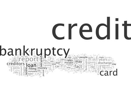 Bankruptcy Help Things You Can Do After Bankrupcy Stockfoto - 132214563